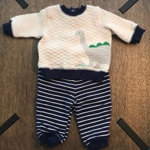 Little Me Baby Boy Dino Outfit- Size 3M